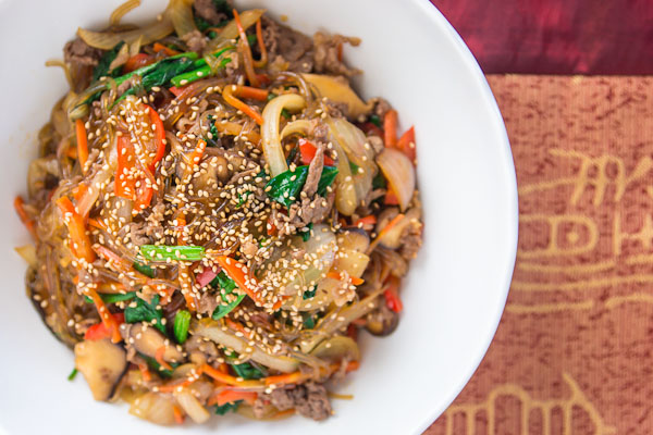 Japchae recipe fresh tastes blog pbs food japchae forumfinder