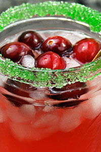 Cranberry Margarita from Ezra Pound Cake