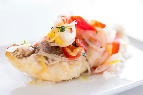 Sea Bream Escabeche recipe