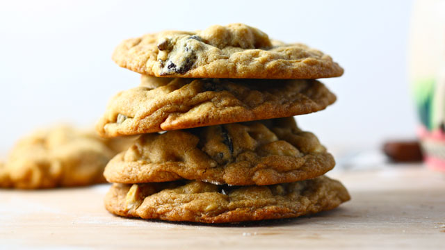 White Chocolate Chip Cookies Recipe with Cherry and Cashews | PBS Food