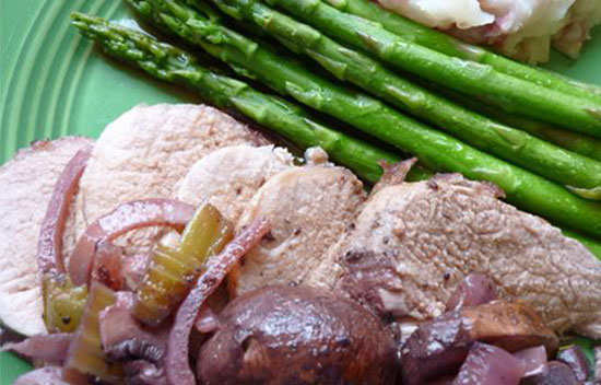 Purple Pork Tenderloin