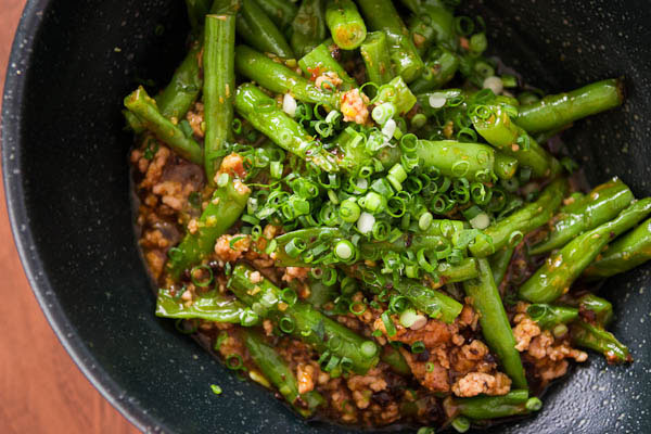 Recipe with green beans and chicken