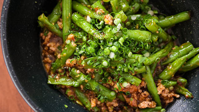 Green beans with garlic black bean sauce recipe pbs food forumfinder Gallery
