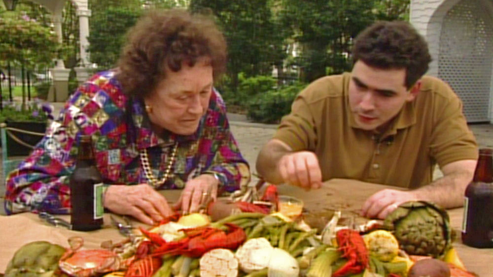 Emeril lagasse remembers julia child cookforjulia pbs food - Julia child cooking show ...
