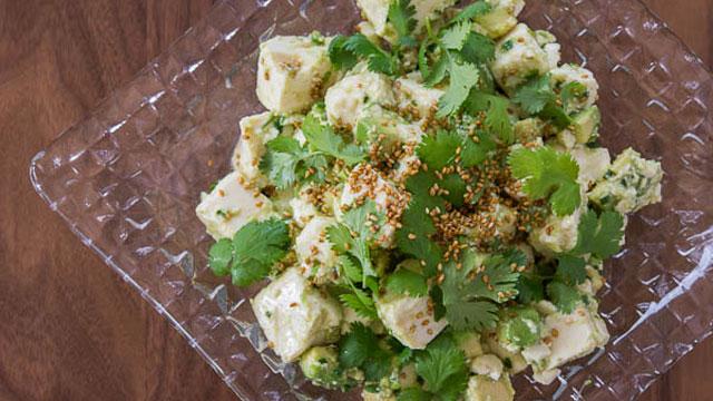 Tofu Avocado Salad Recipe   Fresh Tastes Blog   PBS Food