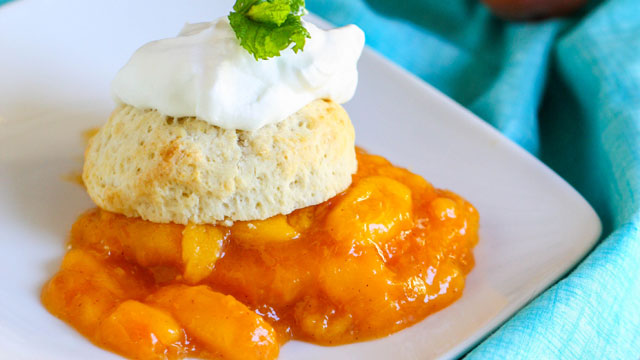 Peach Shortcake Recipe — Dishmaps