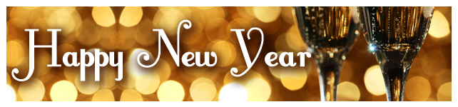 New Year's Eve: Recipes, Foodie Resolutions and More custom banner
