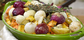 Thanksgiving Recipes Roasted Vegetables