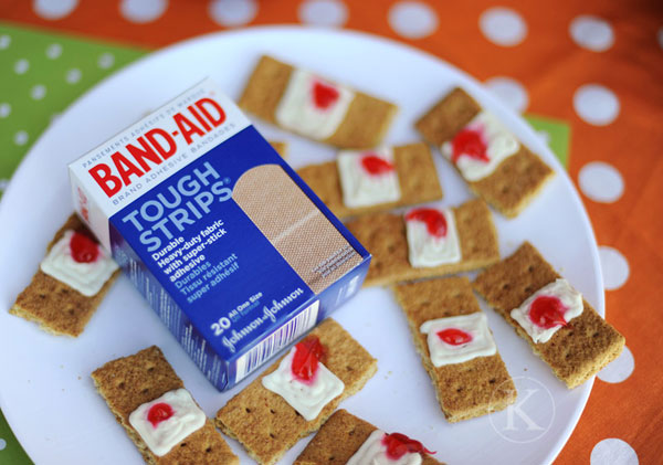 Bandaid Snacks