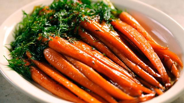 Brown Sugar-Glazed Carrots Recipe   Side Dish Recipes   PBS Food