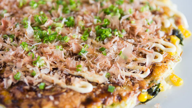 Okonomiyaki Recipe (Japanese Pancake) | Japanese Recipes | PBS Food