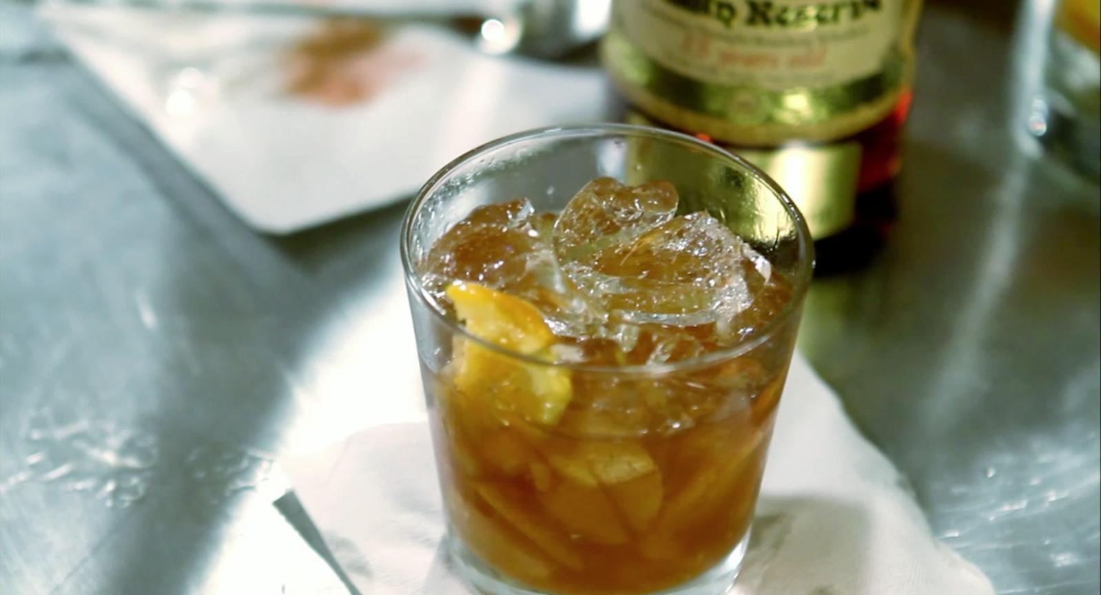 Julian Van Winkle's Old Fashion Cocktail Recipe