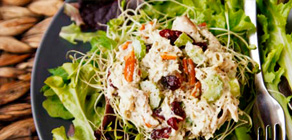 Thanksgiving Recipes Turkey Pesto Salad