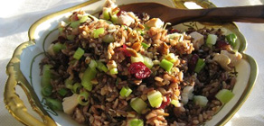 Thanksgiving Recipes Turkey Rice Salad