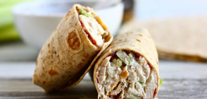 Thanksgiving Recipes Turkey Salad Rollups