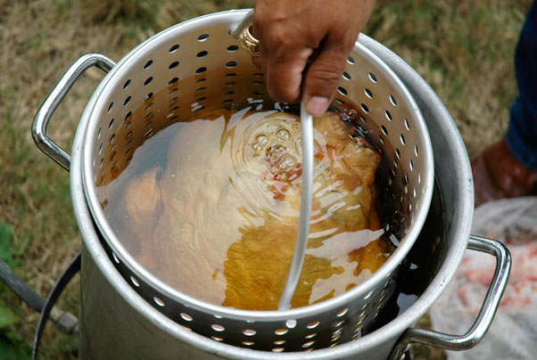 Deep Fry Turkey