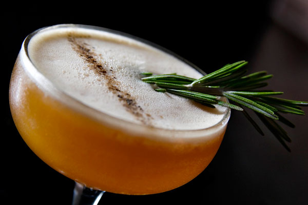 Rosemary Orange Cocktail