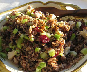 Thanksgiving Leftovers Wild Rice Salad