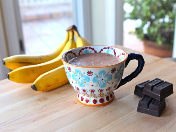 Curious George Banana Hot Chocolate