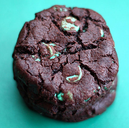 Chocolate Mint Chip Cookie recipe