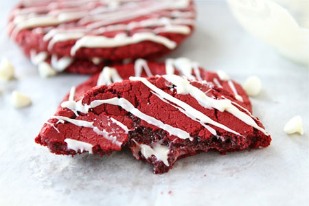 Red Velvet Cheesecake Cookies recipe