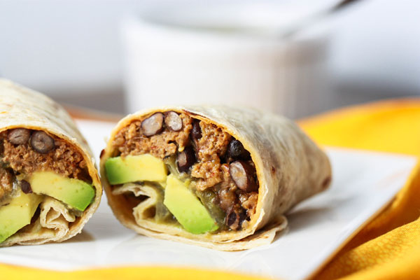 Avocado Burrito recipe