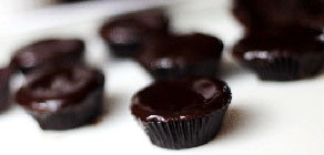 Chocolate Ganache Brownie Bites