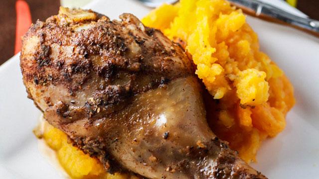 Jamaican jerk chicken drumsticks recipe chicken recipes pbs food forumfinder Gallery