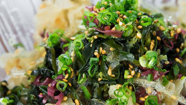 Asian seaweed salad