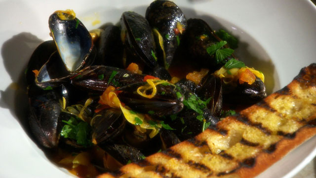 Steamed Mussels with Wine and Saffron | Seafood Recipes | PBS Food