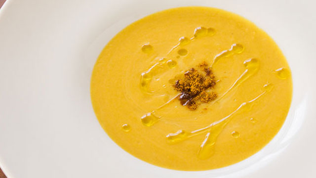 Sweet Potato Leek Soup recipe