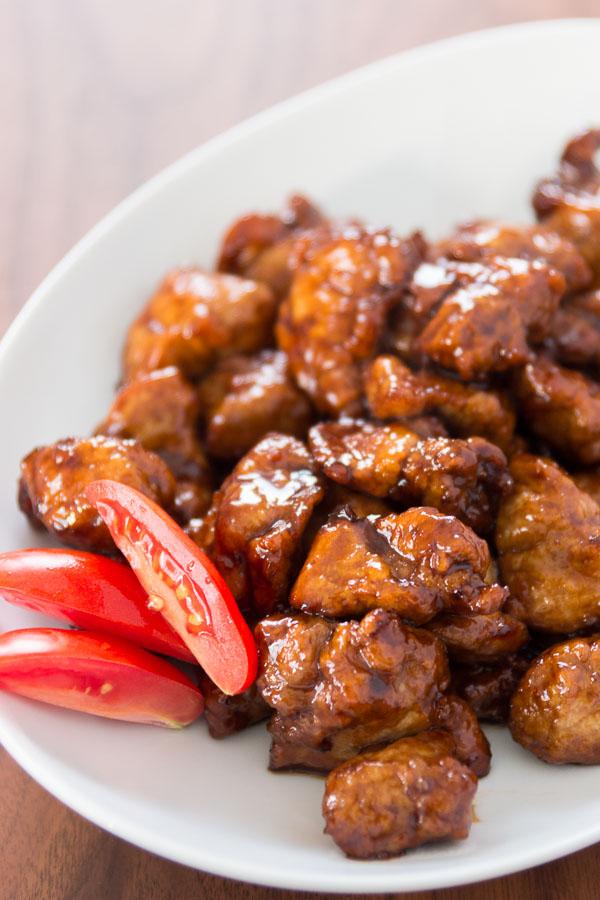 Black Vinegar Pork recipe