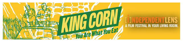 King Corn custom banner
