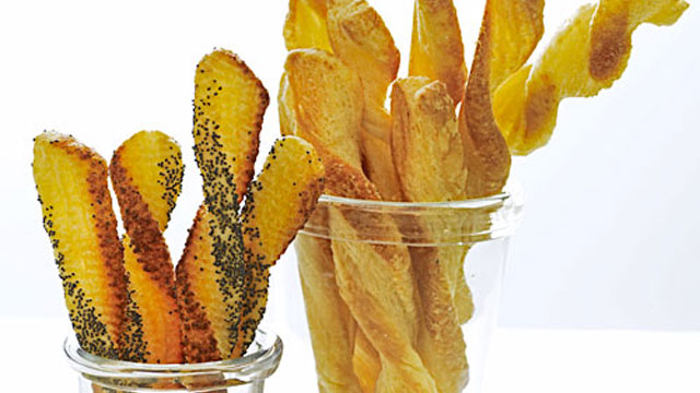 Cheese Straws Recipe | Appetizer Recipes | PBS Food