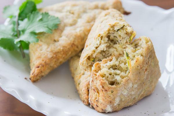 Vegan Zucchini Scones