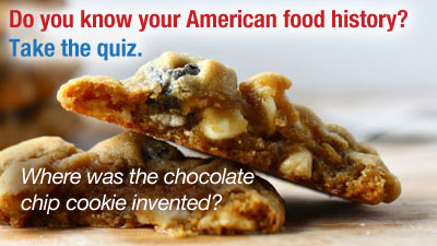 American food history quiz pbs food for American cuisine facts