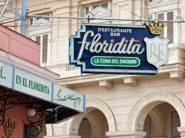 El Floridita Bar in Havana, Cube