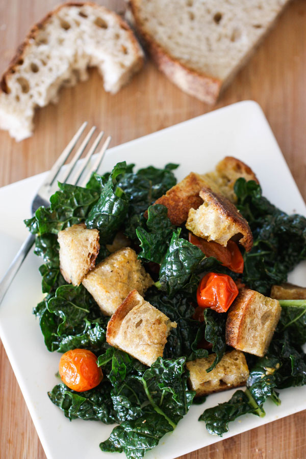 Kale Panzanella Salad Recipe | Fresh Tastes Blog | PBS Food