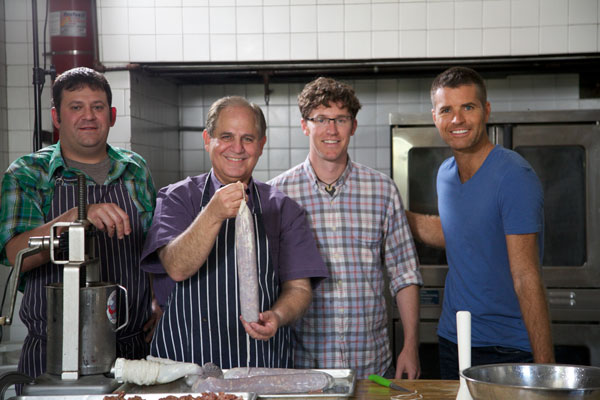 Pete Evans with John Folse