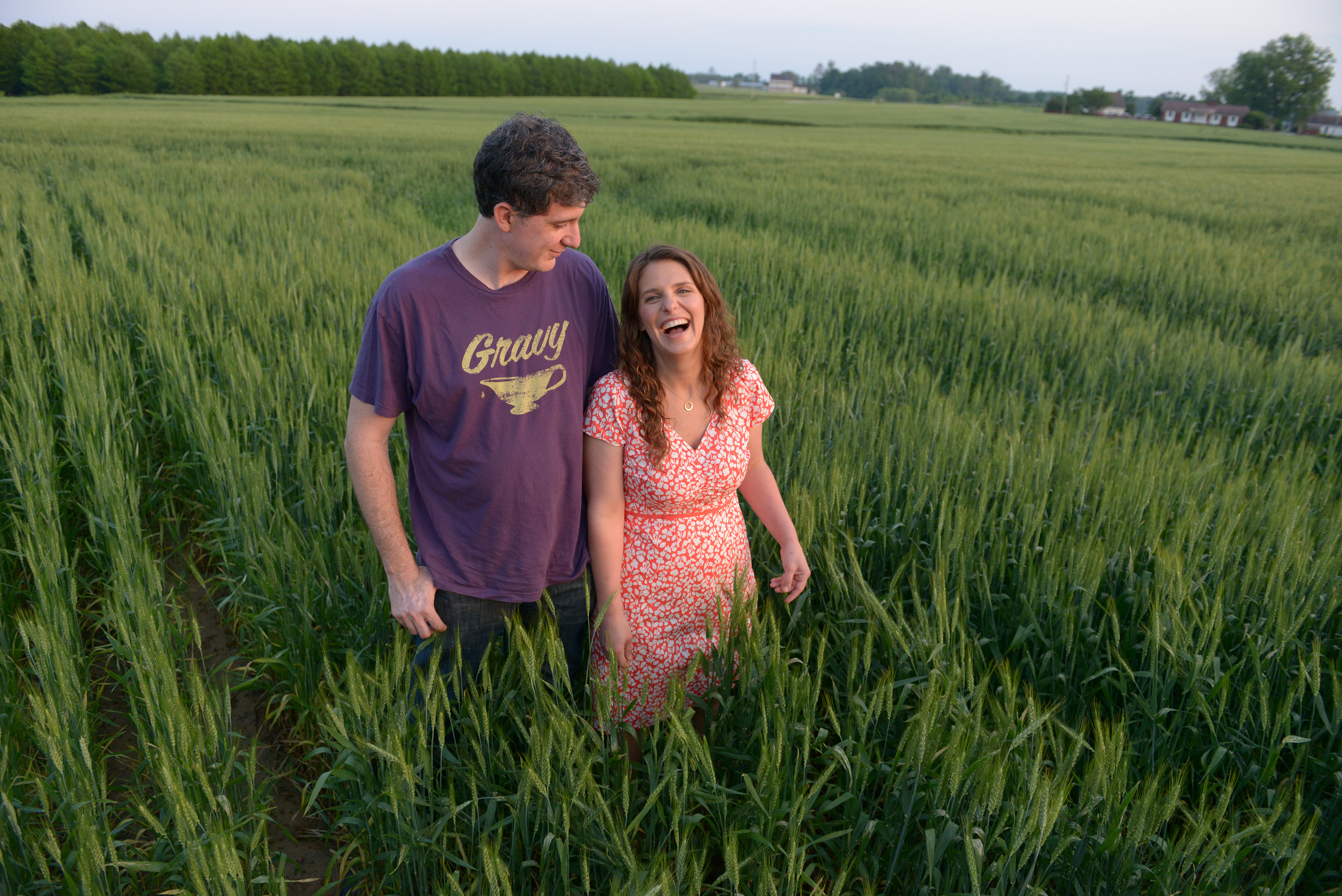Follow Ben and Vivian as they leave the kitchen and hunt for the freshest and best ingredients.