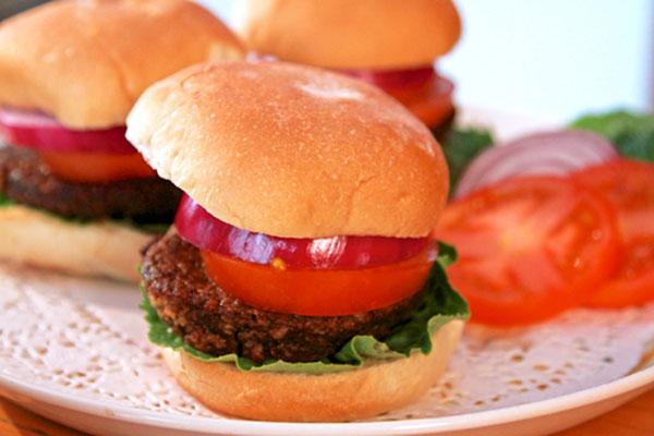 Mushroom-Nut Burger recipe