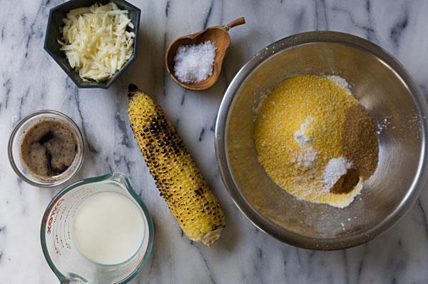 Charred Sweet Corn Fritter recipe