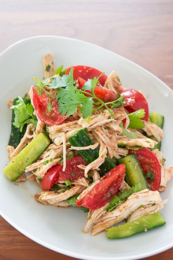 Shredded Chicken and Sesame Salad