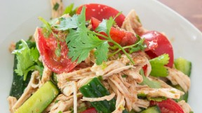 Shredded Chicken and Sesame Salad