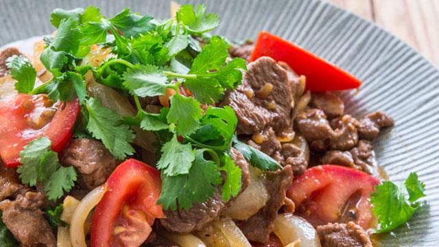 Stir-Fried Cumin Lamb