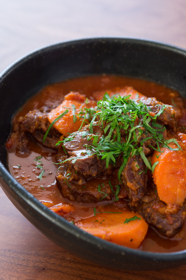 Double Carrot Beef Stew