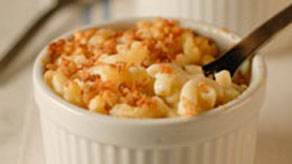 Family sized macaroni and cheese