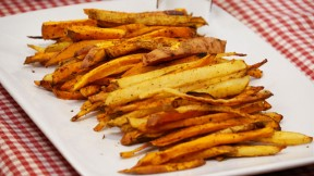 Confetti Oven Fries