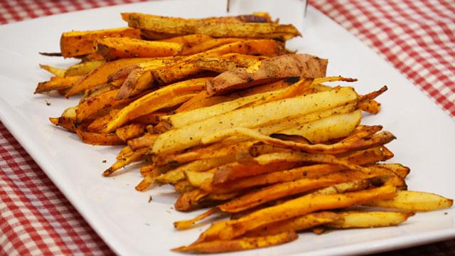 Confetti Oven Fries