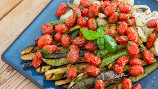 Grilled Ratatouille Salad Recipe | Fresh Tastes Blog | PBS Food